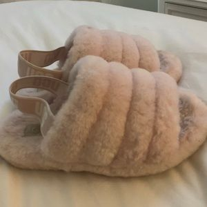 Light Pink Ugg Slippers!!!